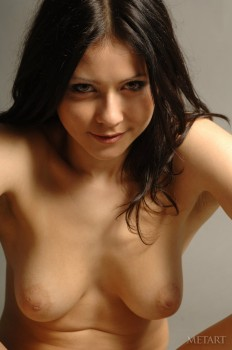 Wonderful model is having sensual solo
