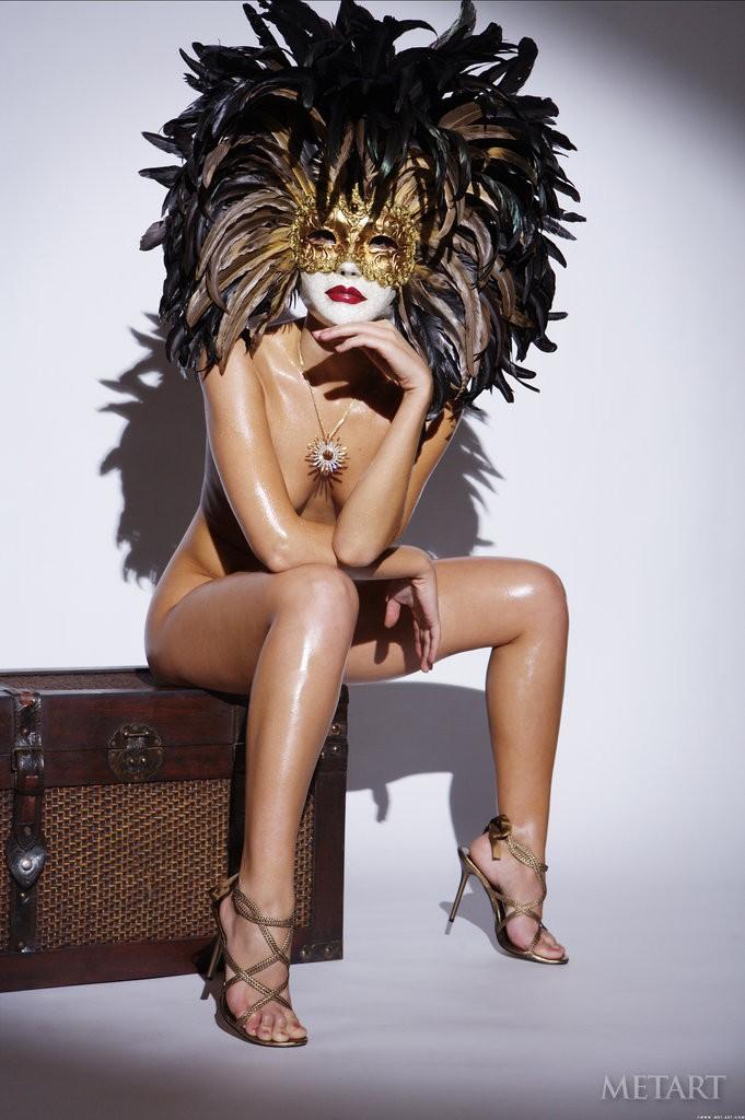 Masquerade nude porn xxx scene